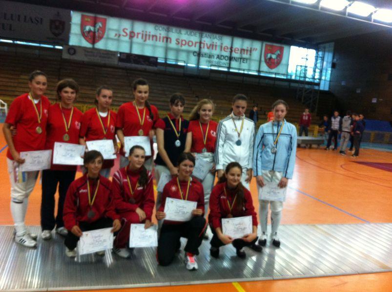 Campionatul national de juniori sabie - Iasi 2013